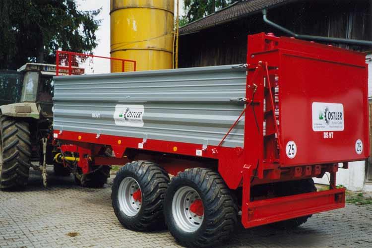 Dungstreuer-KLE von Ostler Maschinenbau