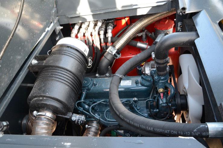 Ostler Mascinenbau K2P Aufnahme Motor