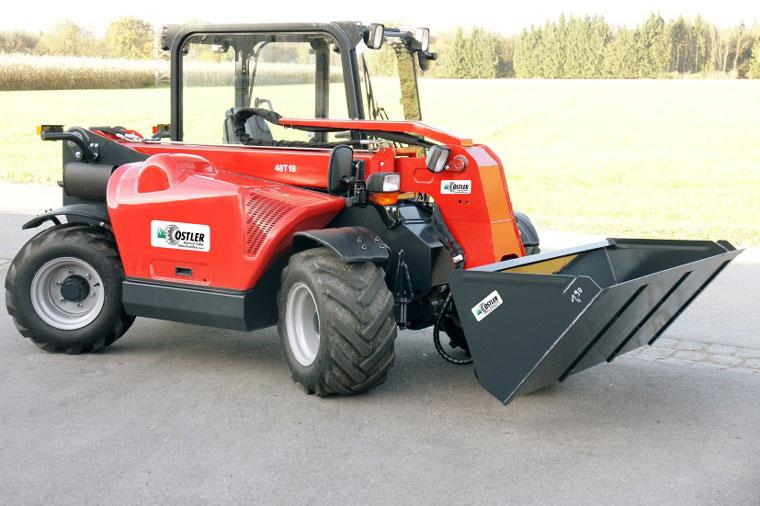 Kompakter TL50-2 Lader mit grosser Leistung